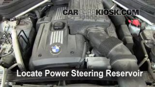 2008 BMW X5 3.0si 3.0L 6 Cyl. Power Steering Fluid Fix Leaks