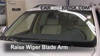 Front Wiper Blade Change BMW X5 (2007-2013)