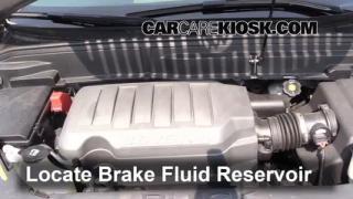 2008 Buick Enclave CXL 3.6L V6%2FBrake Fluid Part 1 interior fuse box location 2008 2012 buick enclave 2008 buick 2008 buick enclave fuse box at readyjetset.co