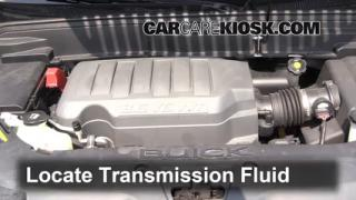2008 Buick Enclave CXL 3.6L V6%2FTransmission Fluid Part 1 follow these steps to add power steering fluid to a buick enclave 2008 buick enclave fuse box location at bakdesigns.co