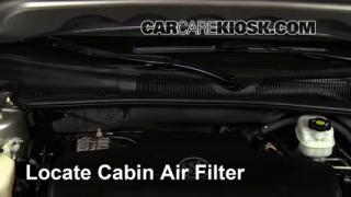 2006-2011 Buick Lucerne Cabin Air Filter Check