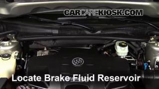 Add Brake Fluid: 2006-2011 Buick Lucerne