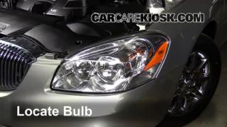 2008 Buick Lucerne CXL 3.8L V6 Lights Headlight (replace bulb)