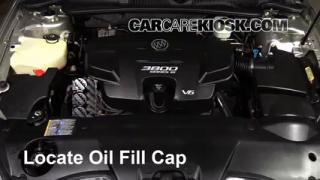 How to Add Oil Buick Lucerne (2006-2011)