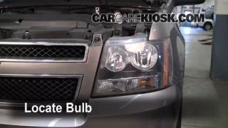 2008 Chevrolet Avalanche LT 5.3L V8 Lights Headlight (replace bulb)