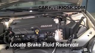 2006-2014 Chevrolet Impala Brake Fluid Level Check