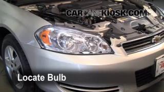 Parking Light Change 2006-2014 Chevrolet Impala