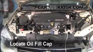 How to Add Oil Chevrolet Impala (2006-2016)