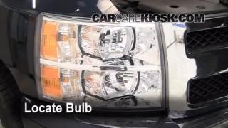 Highbeam (Brights) Change: 2007-2013 Chevrolet Silverado 1500