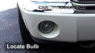 2008 Chrysler Aspen Limited 5.7L V8 Luces Luz de niebla (reemplazar foco)