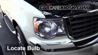 2008 Chrysler Aspen Limited 5.7L V8 Lights Daytime Running Light (replace bulb)