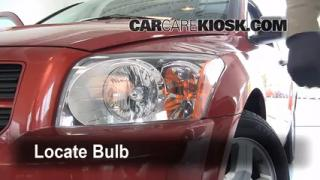 2008 Dodge Caliber SE 2.0L 4 Cyl. Lights Headlight (replace bulb)