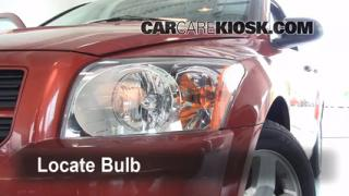 2008 Dodge Caliber SE 2.0L 4 Cyl. Lights Turn Signal - Front (replace bulb)