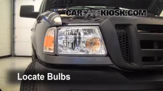 2008 Ford Ranger XL 2.3L 4 Cyl. Standard Cab Pickup Luces Luz de estacionamiento (reemplazar foco)