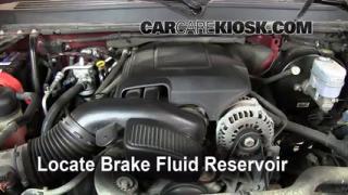 Add Brake Fluid: 2007-2013 GMC Yukon XL 1500