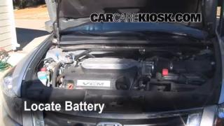 Battery Replacement: 2008-2012 Honda Accord