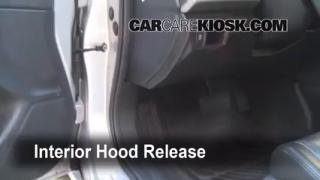 Open Hood How To 2008-2012 Honda Accord