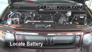 Battery Replacement: 2003-2011 Honda Element