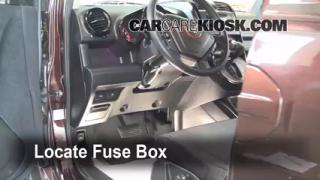 Interior Fuse Box Location: 2003-2011 Honda Element