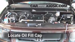 How to Add Oil Honda Element (2003-2011)
