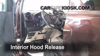 Open Hood How To 2003-2011 Honda Element