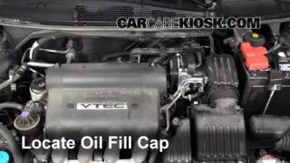 how to fix burns oil honda accord 2008