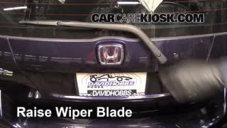 2008 Honda Fit 1.5L 4 Cyl. Windshield Wiper Blade (Rear) Replace Wiper Blade