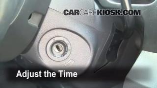How to Set the Clock on a Honda Ridgeline (2006-2014)