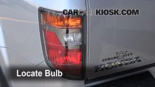 2008 Honda Ridgeline RTL 3.5L V6 Lights Reverse Light (replace bulb)