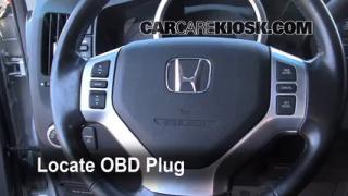 2008 Honda Ridgeline RTL 3.5L V6 Check Engine Light Diagnose