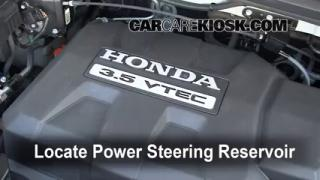 2008 Honda Ridgeline RTL 3.5L V6 Power Steering Fluid Fix Leaks