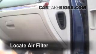 Cabin Filter Replacement: Hyundai Veracruz 2007-2012