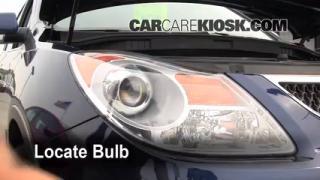Parking Light Change 2007-2012 Hyundai Veracruz