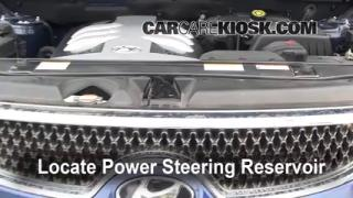 Follow These Steps to Add Power Steering Fluid to a Hyundai Veracruz (2007-2012)