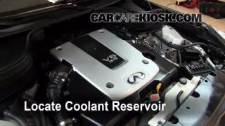 2008 Infiniti EX35 Journey 3.5L V6 Coolant (Antifreeze) Flush Coolant