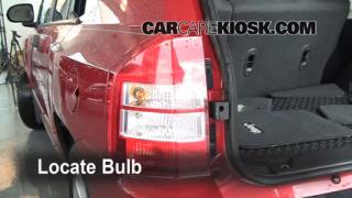 2008 Jeep Compass Sport 2.0L 4 Cyl. Lights Reverse Light (replace bulb)