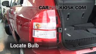 2008 Jeep Compass Sport 2.0L 4 Cyl. Lights Turn Signal - Rear (replace bulb)