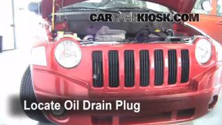 2008 Jeep Compass Sport 2.0L 4 Cyl. Oil Change Oil and Oil Filter