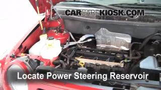 2008 Jeep Compass Sport 2.0L 4 Cyl. Fluid Leaks Power Steering Fluid (fix leaks)