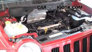 2008 Jeep Compass Sport 2.0L 4 Cyl. Transmission Fluid Check Fluid Level