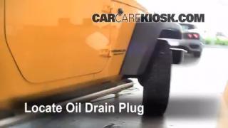 Oil & Filter Change Jeep Wrangler (2007-2014)