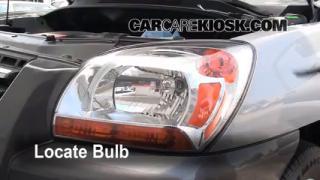 Parking Light Change 2005-2010 Kia Sportage