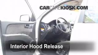Open Hood How To 2005-2010 Kia Sportage
