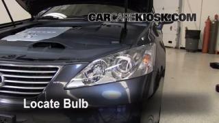 Highbeam (Brights) Change: 2007-2012 Lexus ES350