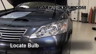 Headlight Change 2007-2012 Lexus ES350