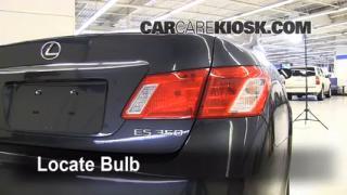 2008 Lexus ES350 3.5L V6 Lights Reverse Light (replace bulb)