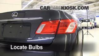 Tail Light Change 2007-2012 Lexus ES350