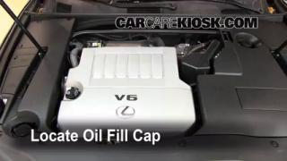 How to Add Oil Lexus ES350 (2007-2012)