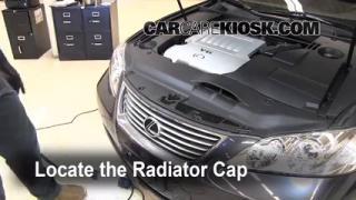 Coolant Flush How-to: Lexus ES350 (2007-2012)