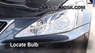 Headlight Change 2006-2014 Lexus IS350